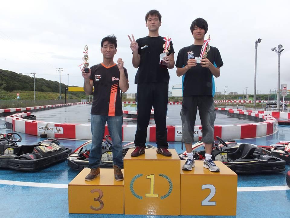 SWS木更津CUP第11戦の表彰式