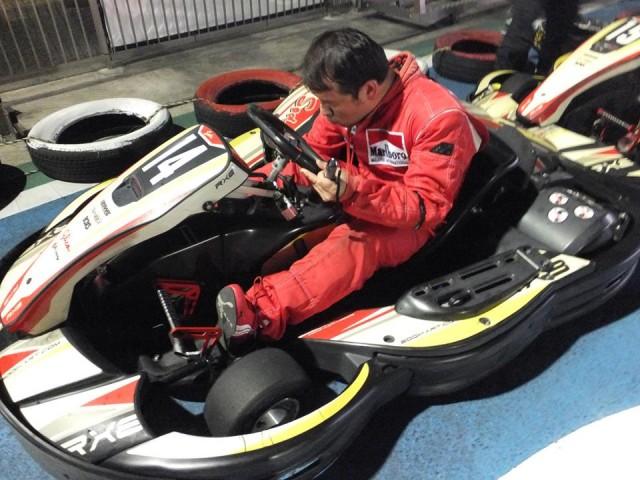 Sodi木更津CUP耐久レース第9戦でペダル調整