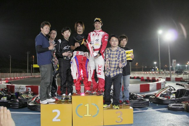 Sodi木更津CUP耐久レース第9戦表彰台
