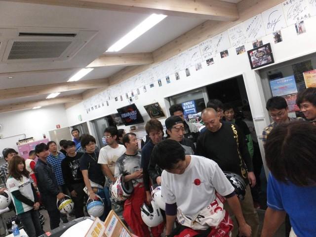 Sodi木更津CUP耐久レース第9戦の体重測定