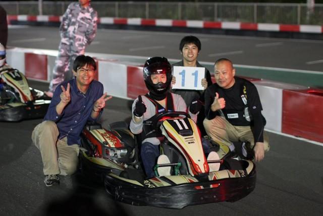 Sodi木更津CUP耐久レース第9戦のチーム記念撮影2