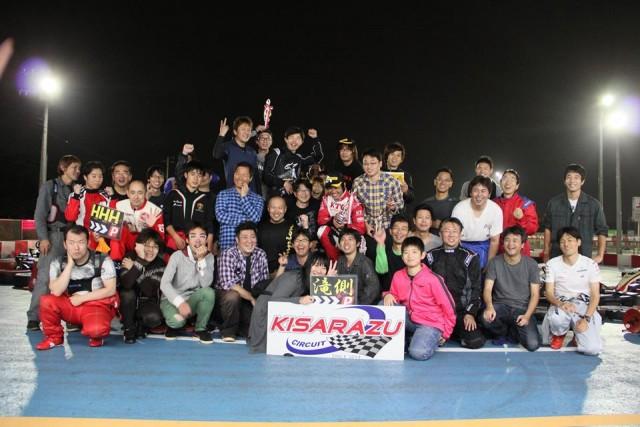 全員でSodi木更津CUP耐久レース第9戦の記念撮影