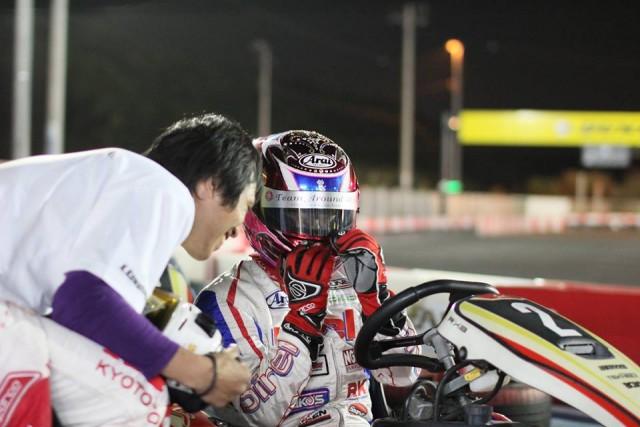 Sodi木更津CUP耐久レース第9戦でピットの相談