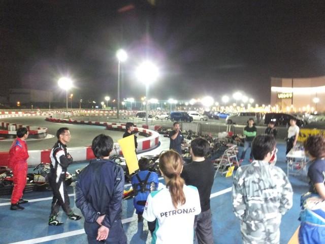 Sodi木更津CUP耐久レース第9戦のドライバーズミーティング