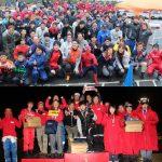 舞洲インフィニティサーキット8時間耐久レースの集合写真