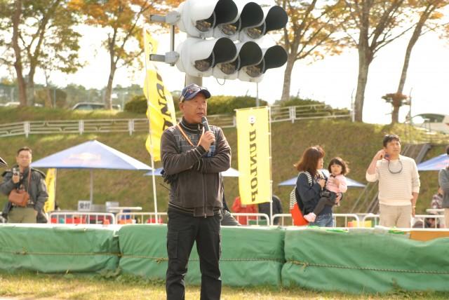 協議長の河本さん クリーンなレースを!と念押し。