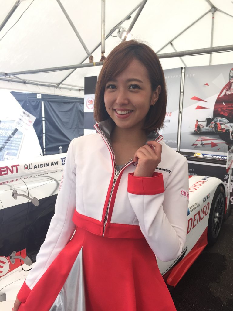 東京モーターフェス2016の富士スピードウェイクレインズ