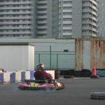 ブレーキのロック練習