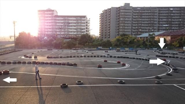 シティーカート1,8,12コーナーでスピード下げ過ぎの谷古宇