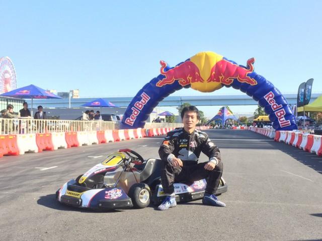 2015年レッドブルカートファイトチャンピオンの金沢太景選手
