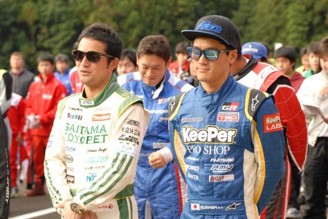 番場選手、小河選手もレーシングカートレースに参戦!