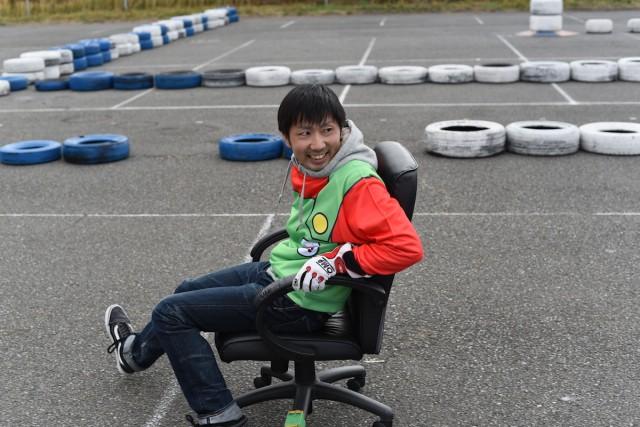 Go!KART!チームの予選を担当した鶴田さん